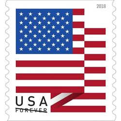 Kyпить Coil of100 USPS Forever Stamps Spangled Banner Flag 2018 Postage Coil Sheet USA на еВаy.соm
