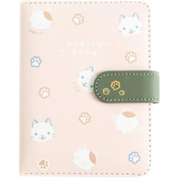 Kyпить Student Cute Cartoon Cat Pattern Notebook Leather Cover Journal Diary Notepad на еВаy.соm