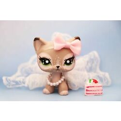 Taylorlps lps Short Hair Cat Elk Cat Custom Made OOAK With LPS Accessories Dress