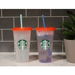 Starbucks Summer 2021 Color Changing  Cold Cup IN HAND