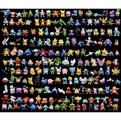 Kyпить Set of 192 Pocket Monsters Pokemon Action Figures Pikachu Toys Gift Cake Toppers на еВаy.соm