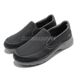 Skechers Go Walk 6-ORVA Grey Men Laceless Casual Lifestyle Shoes 216200-CHAR