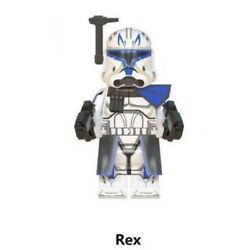 Kyпить CAPTAIN REX STAR WARS CLONE FIGURE NEW CAN PLAY WITH LEGO на еВаy.соm