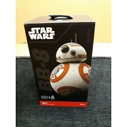 Lot of 2 Star Wars - Sphero Disney App-Enabled Droid R2-D2 BB-8 Excellent Cond
