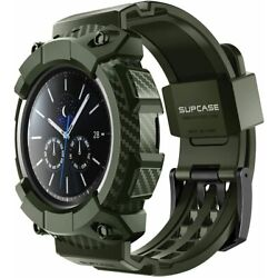 For New Samsung Galaxy Watch 3 (45mm) SUPCASE Rugged Watch Case Watch Band Strap