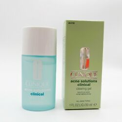 Clinique Acne Solutions Clinical Clearing Gel- 1 oz/30 ml Full Size  NEW FRESH