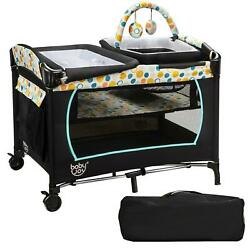 Kyпить 4-in-1 Convertible Baby Playard Portable Changing Station Boy Girl Bassinet Bed на еВаy.соm
