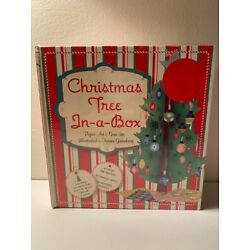 Kyпить Christmas Tree in a Box Paper Craft Project Kit NEW Sealed  на еВаy.соm