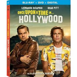New Once Upon A Time In Hollywood (Blu-ray/DVD Combo + Digital)