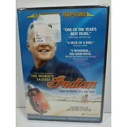The World's Fastest Indian (DVD, 2005) NEW, SEALED, Anthony Hopkins