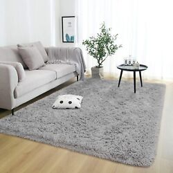 Super Soft Fluffy Area Rugs for Bedroom Living Room, 4x5.9