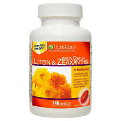 TruNature, Lutein & Zeaxanthin Vision Complex, 140 Softgels, Exp 10/22 NEW