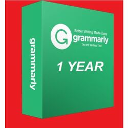 Grammar ly Premium????Fast Delivery????1 Year Subscription????Trusted Seller????Warranty
