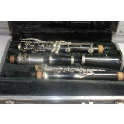 Bundy Resonite Selmer Clarinet with Original Case Perfectly Playable