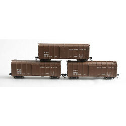 N Scale-FOX VALLEY B&O Baltimore & Ohio Wagontop Boxcar Lot of 3 380934 380180 +