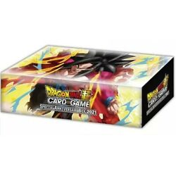 Dragon Ball Super Card Game Special Anniversary 2021 Box Set - In Stock