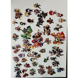 Marvel Stickers Lot 153! Avengers, Guardians of the Galaxy, Spiderman, X-Men