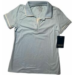 School Uniforms For Girls Collar Polo Shirt Size L 14/16 New With Tags NWT