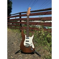 USA Custom Warmoth 920D Toasted Partscaster Electric Guitar w/ Brian May Burn...