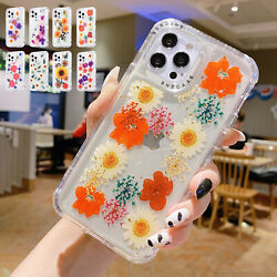 For iPhone 13 12 Pro Max 11 XS XR 7 8+ Shockproof Hybrid Clear Bumper Case Cover