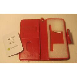 FYY Red Leather Smart Phone Case NEW with No Box!!!!