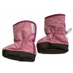 7AM Enfant 212 Booties  6-12 Month Water Repellent Insulated Boots Pink Purple