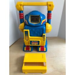 Vintage 1986 Coleco My Friend Talking Toby Robot Electronic Learning  - No Cards