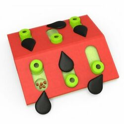 Petstages Melon Madness Puzzle & Play Cat Game, Pink, One-Size