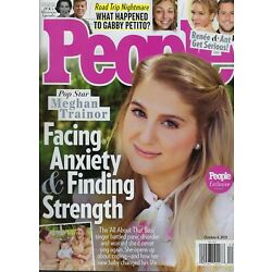 People Magazine October 4th 2021  Meghan Trainor Opens Up