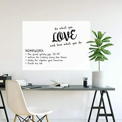 WALL POPS Message Board large PEEL STICK DRY ERASE 24'' X 36'' removable reusable