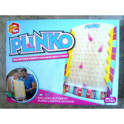 Buffalo- Price Is Right Plinko Board Game w/Lights & Sounds *SEALED*   FEDX SHIP
