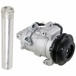 For Ford Mustang 3.7L 2011 2012 2013 2014 AC Compressor w/ A/C Drier DAC