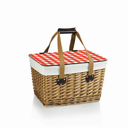 Picnic Time Family of Brands Canasta Wicker Basket 118-00-300-000-0