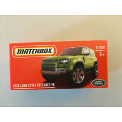 2020 LAND ROVER DEFENDER 90 * 2021 Matchbox POWER GRABS Case Y ~ #11 ~ IN STOCK!