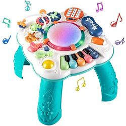 BEST SELLER -  Baby Toys 6 to 12 Months, Learning Musical Table, Activity Table