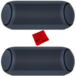 LG XBOOM Go PL5 Portable Bluetooth Speaker with Meridian Sound Technology 2 Pack