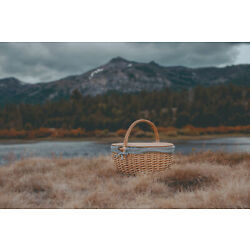 Picnic Time Family of Brands Country Picnic Basket 138-00-211-000-0