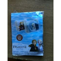 Disney Frozen II - 2 Arm Floats Swimming Arm Bands with Repair Kit Ages 3+
