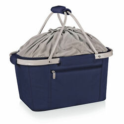 Picnic Time Family of Brands Basket Collapsible Cooler Tote 645-00-138-000-0