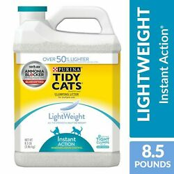 Purina Tidy Cats Low Dust Clumping Cat Litter, LightWeight Glade Clear Springs M