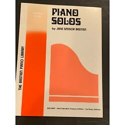 PIANO SOLOS, Primer Level, Jane Bastien Piano Library, WP22, 28 pages paperback