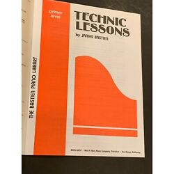 TECHNIC LESSONS, Primer Level, Bastien Piano Library, WP11, 24 pages paperback