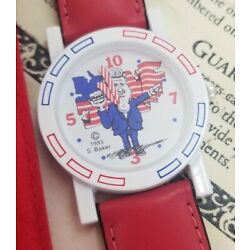 Bill Clinton ''Slick Willy'' LE 43/500  W COA Political Character Watch Wristwatch