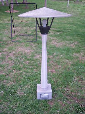 Retro Aluminum Garden Light Pole Lamp Ebay