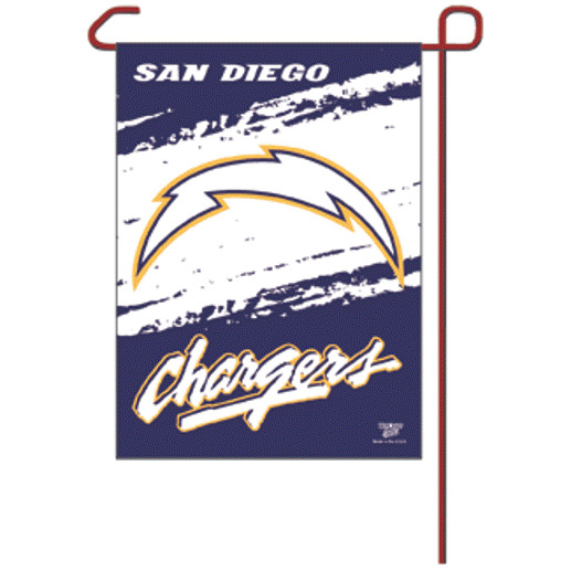 San Diego Chargers Facts: NFL SAN DIEGO CHARGERS GARDEN PATIO WALL FLAG W083830