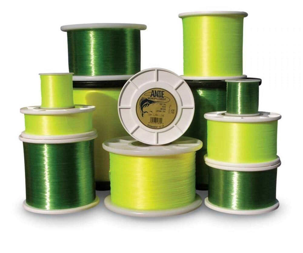 Ande tournament green fishing line 4lb 1810 yds for Green fishing line