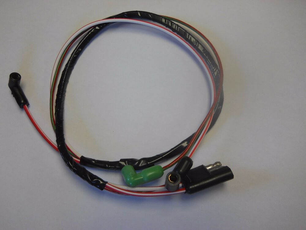 1967 Ford Mustang 289 W  O Tach Engine Gauge Feed Wiring
