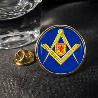 Masonic Scotland Masons Mason Lapel Pin Badge Gift