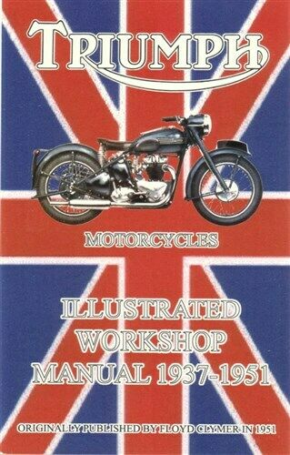 Triumph Shop Manual Repair Book Motorcycle Repair 3t 6t