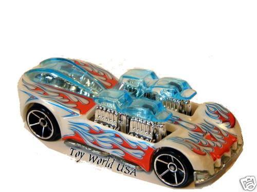 2007 hot wheels 157 mystery car what 4 2 white ebay. Black Bedroom Furniture Sets. Home Design Ideas